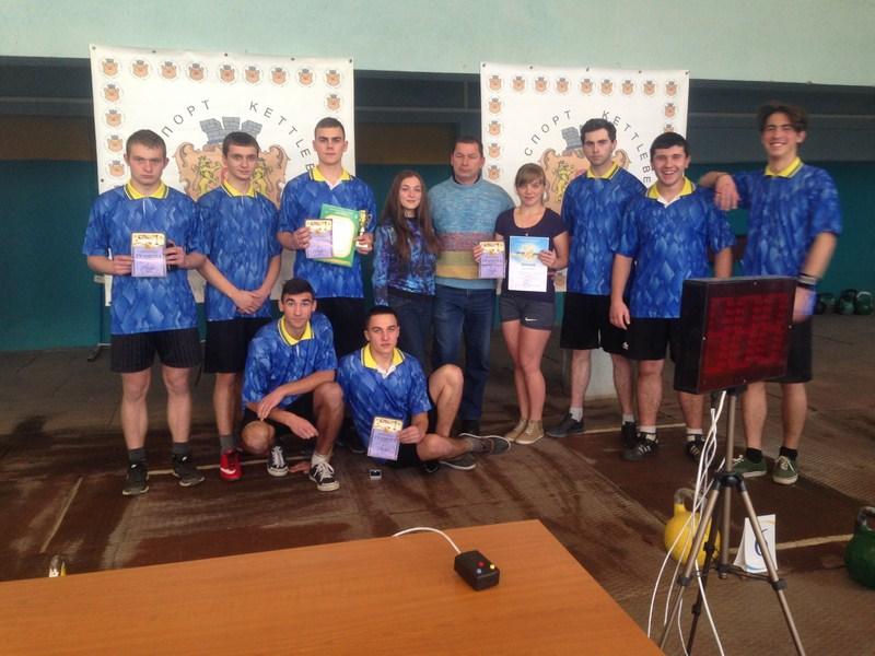 Першість Львівської області з гирьового спорту