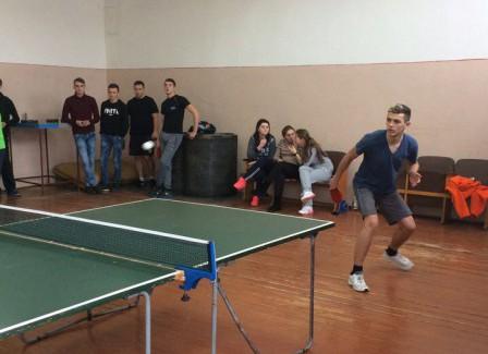 Змагання з настільного тенісу