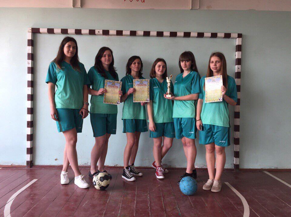 Фінальна частина змагань з міні футболу серед дівчат