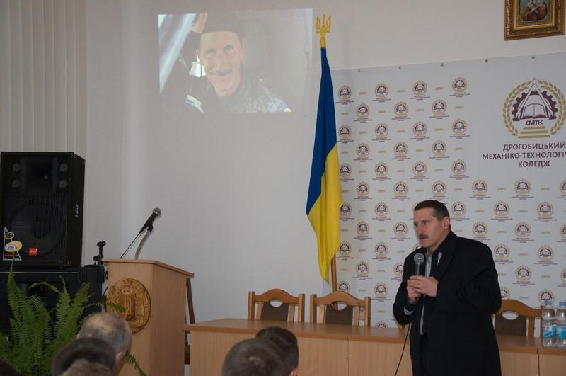 Тарас Кучма та Олег Мулярчук зустрілися зі студентами коледжу.