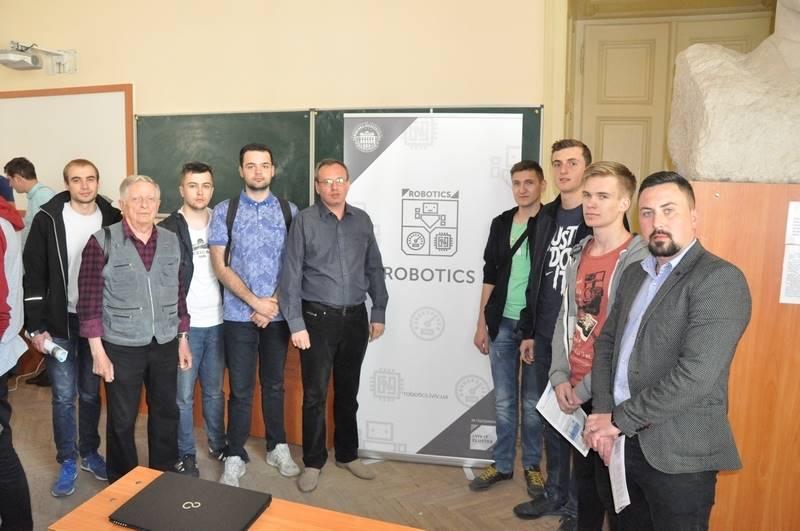День відкритих дверей бакалаврської програми Робототехніка (Robotics) в університеті «Львівська політехніка».