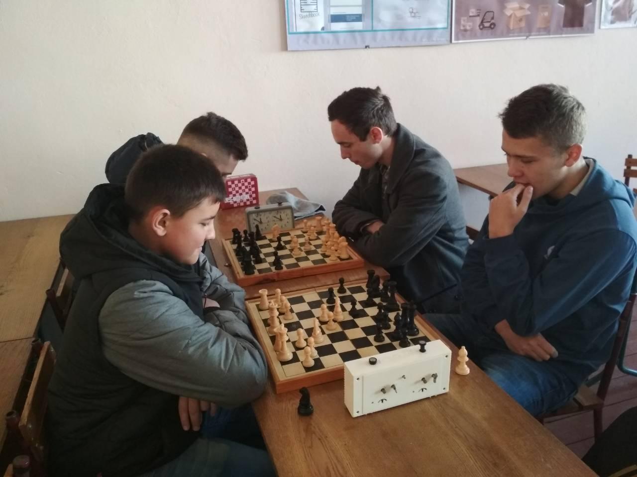 Першість Дрогобицької групи з шахів серед ЗВО І-ІІ р. а.