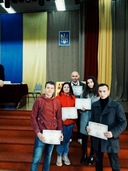 Першість Львівської обл. з шахів серед ЗВО I-ll р.а.