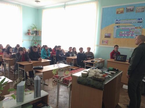 Семінар-тренінг «Домедична допомога при ДТП, НС і в зоні АТО»
