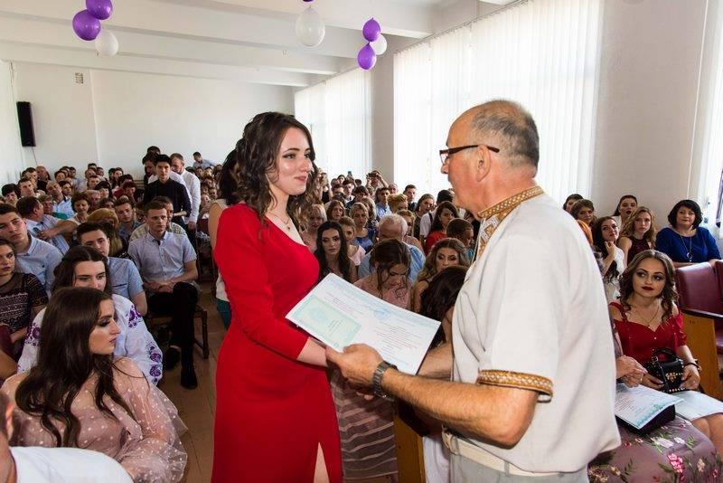 Урочисте вручення дипломів випускникам 2019
