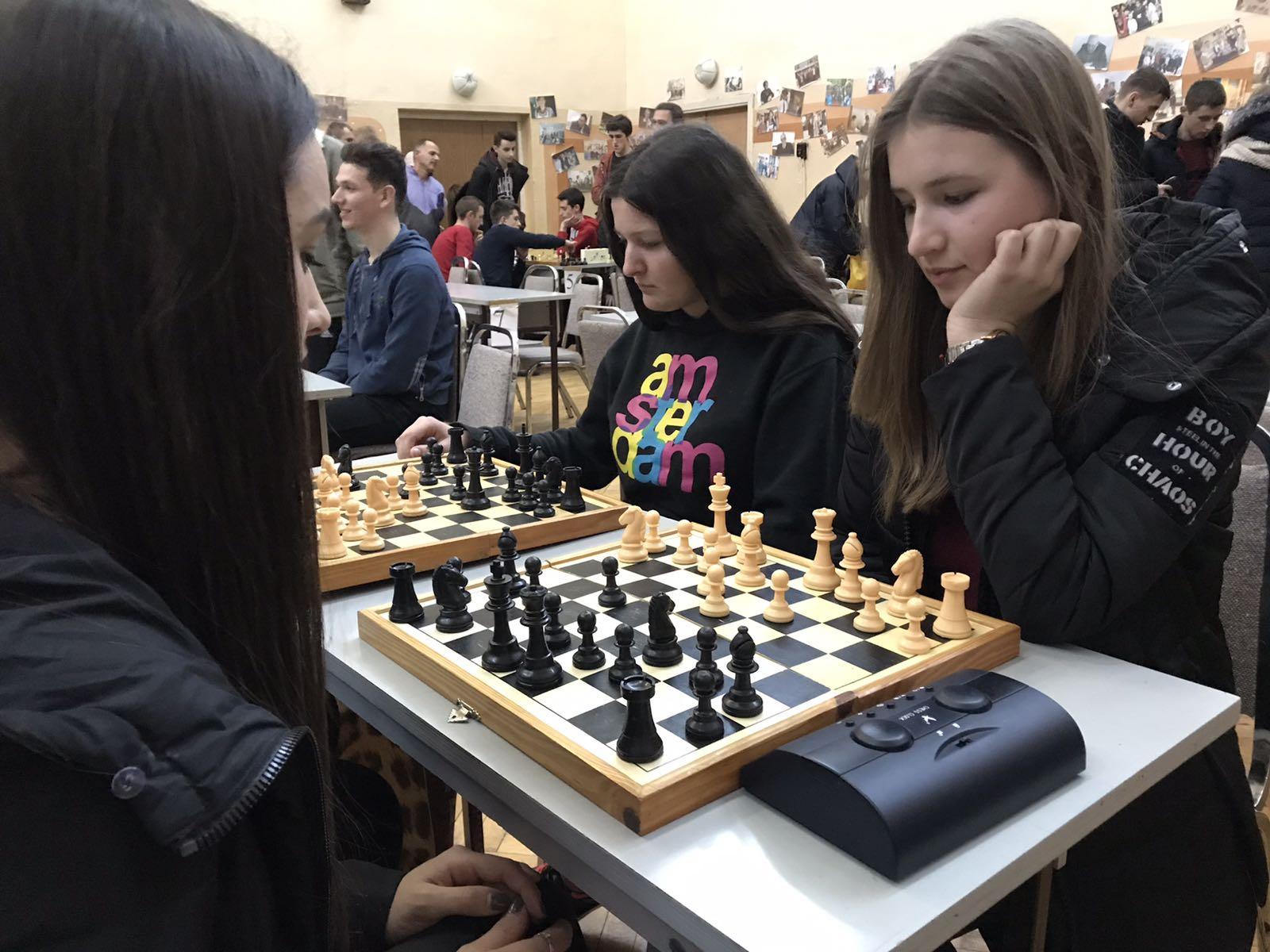 Першість області з шахів 2019
