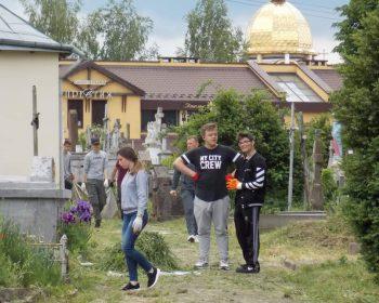 Загальноміська толока на кладовищі при вулиці Грушевського